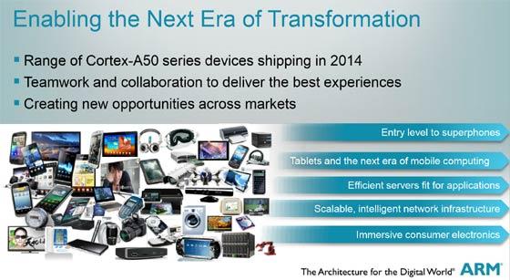 ARM launches Cortex-A50 Series 64-bit processors - CPU - News