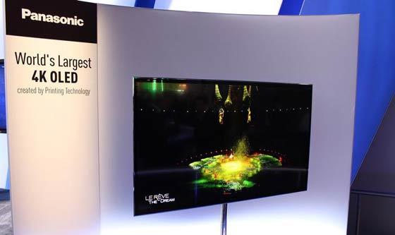 Panasonic Unveils World S Largest 4k Oled Tv Monitors