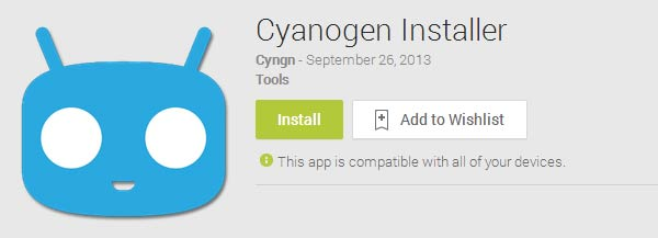 CyanogenMod Installer removed from Google Play Store ...