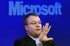 Microsoft whittles new CEO shortlist down to five candidates