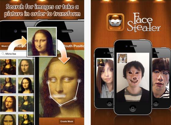Приложение face stealer на андроид