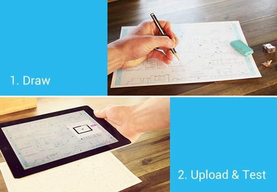 Pixel Press A Draw Your Own Video Game App Hits Kickstarter