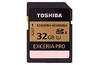 Toshiba's Exceria Pro SDHC cards offer write speeds of 240MB/s