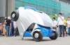 The Armadillo-T electric car folds itself up to park in small spaces