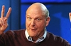 Microsoft CEO Steve Ballmer announces retirement plan