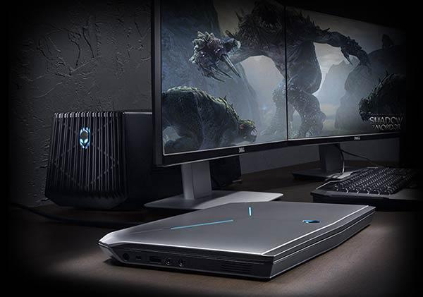 Alienware 13 Laptop Gets External Graphics Amplifier