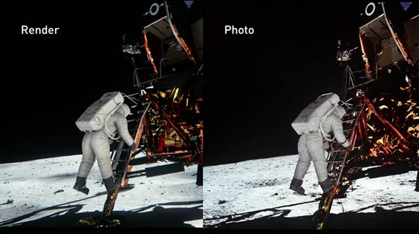 Nvidia releases Apollo 11 conspiracy busting software