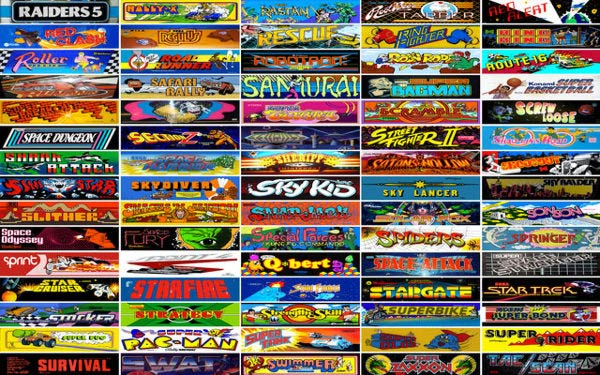 list of 4 player arcade games