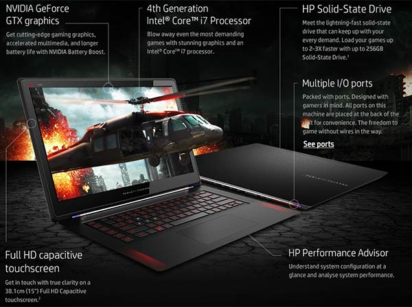 hp OMEN SPECIFICATION
