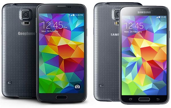 Goophone S5 launched: a Samsung Galaxy S5 clone - General