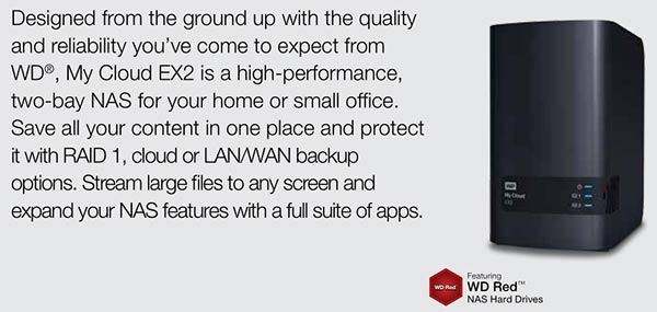 WD launches My Cloud EX2 with up to 8TB of storage - Storage