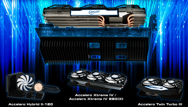 ARCTIC launches 'back side cooling' VGA cooler range