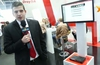 DrayTek product showcase at CeBIT 2014