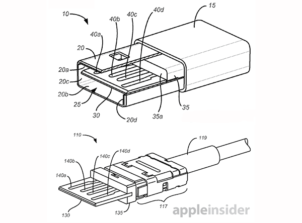 apple u0026 39 s reversible usb connector appears in patent