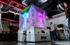 Microsoft introduces interactive Cube at Seattle music festival