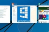 Windows 9 notification centre and virtual desktops demonstrated
