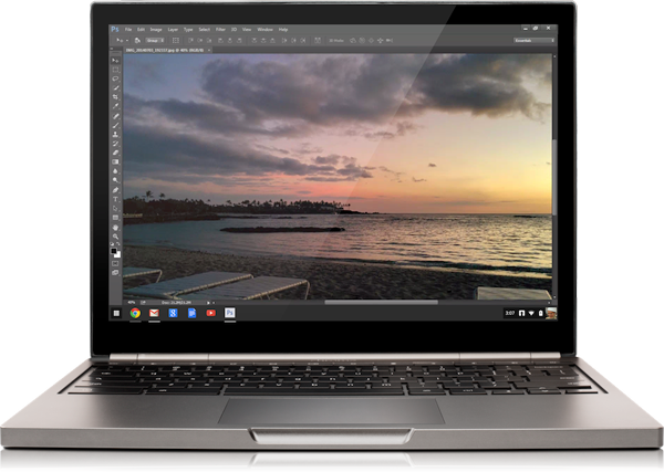 Adobe brings Photoshop support to Chrome and Chrome OS - Software