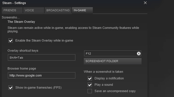 Valve adds integrated framerate counter to Steam Client Beta