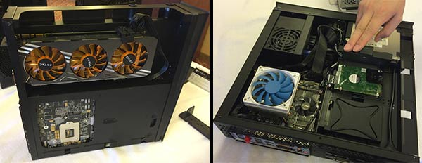 Silverstone Shows Off Its Mini Itx Raven Rvz02 Chassis