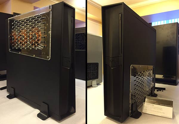 Silverstone shows off its mini-ITX Raven RVZ02 chassis ...