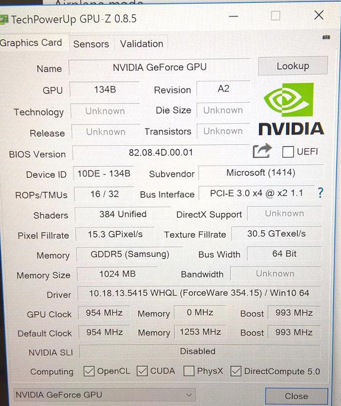 Microsoft Surface Book Nvidia Geforce Gpu Details Emerge