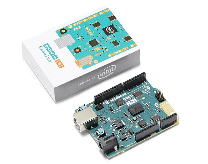 Intel arduino founders launch the genuino maker board