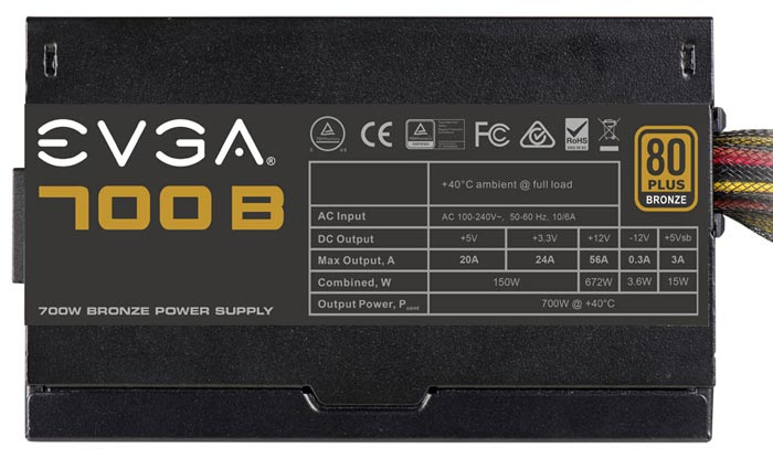 Evga 700b Power Supply Offers Performance And Value Psu