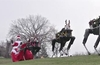 Boston Dynamics video shows Santa and her robo-reindeer