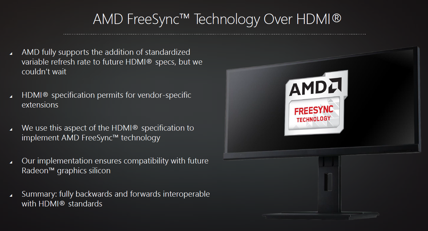 Amd Announces Freesync Over Hdmi Graphics News Hexus Net
