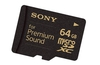 Sony attempts to lure audiophiles with 'Premium Sound' microSD