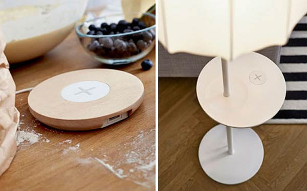 ikea unveils furniture range with qi wireless charging. Black Bedroom Furniture Sets. Home Design Ideas