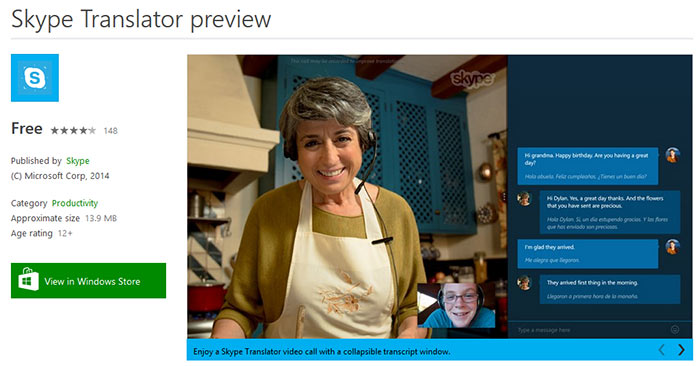 Skype Translator Preview open to all Windows 8 1 and 10