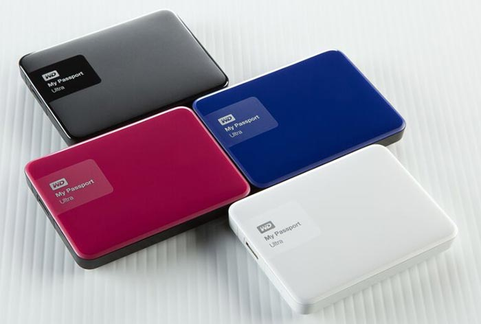 WD redesigns its best selling My Passport Ultra portable