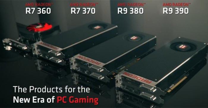 AMD launches the Radeon R9 Fury range, 4x Fiji GPU products