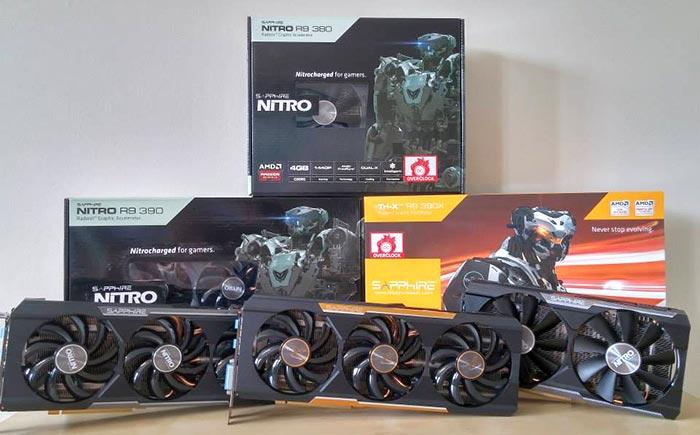 AMD partners release cornucopia of Radeon 300 graphics cards