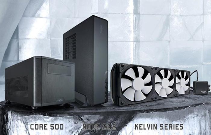 Fractal Design Launches Mini Itx Chassis Liquid Cooling