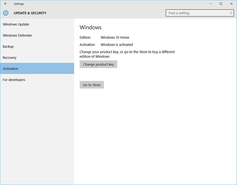 see windows 10 product key