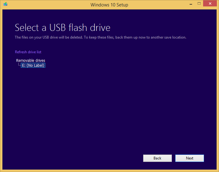 how to clean install win 10 from usb