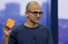 Microsoft's CEO reaffirms mobile ambitions