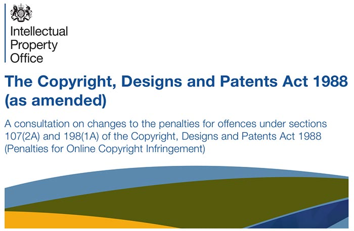 Copyright and patents act pdfs