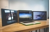 Sliden'Joy offers sliding monitor support wings for your laptop