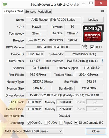 Review: PowerColor Radeon R9 390X Devil - Graphics - HEXUS