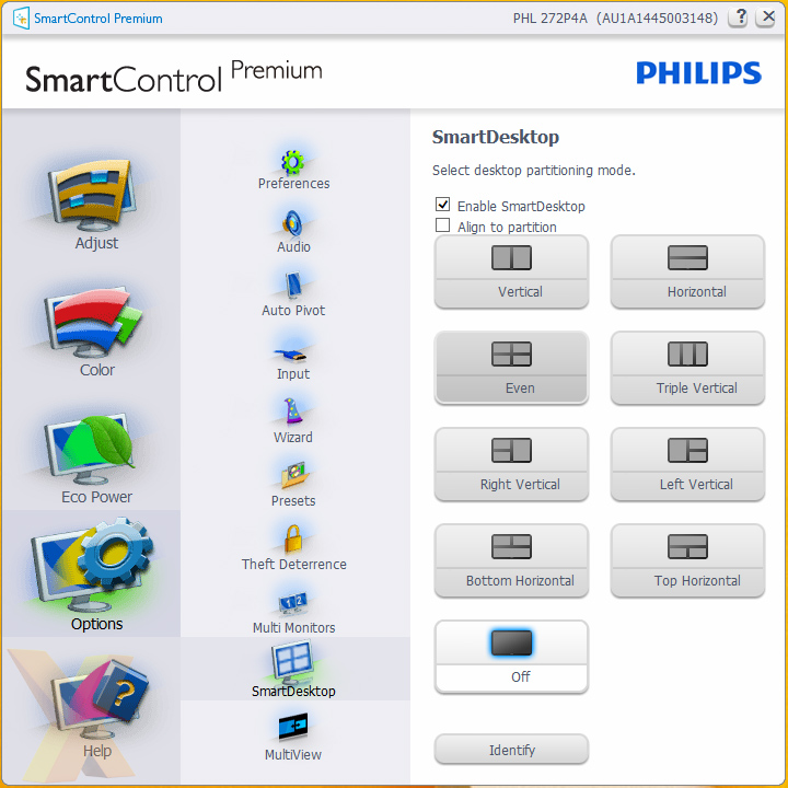 philips smartcontrol