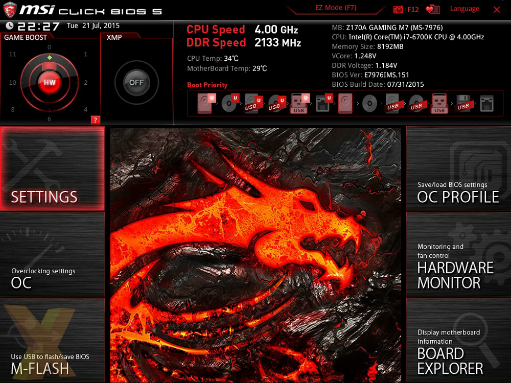 Review: MSI Z170A Gaming M7 - Mainboard - HEXUS net - Page 2