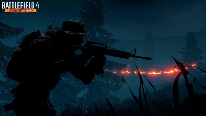 Download Wallpaper 1280x1280 Battlefield 4 Game Ea: Battlefield 4 Night Operations Cinematic Trailer Video
