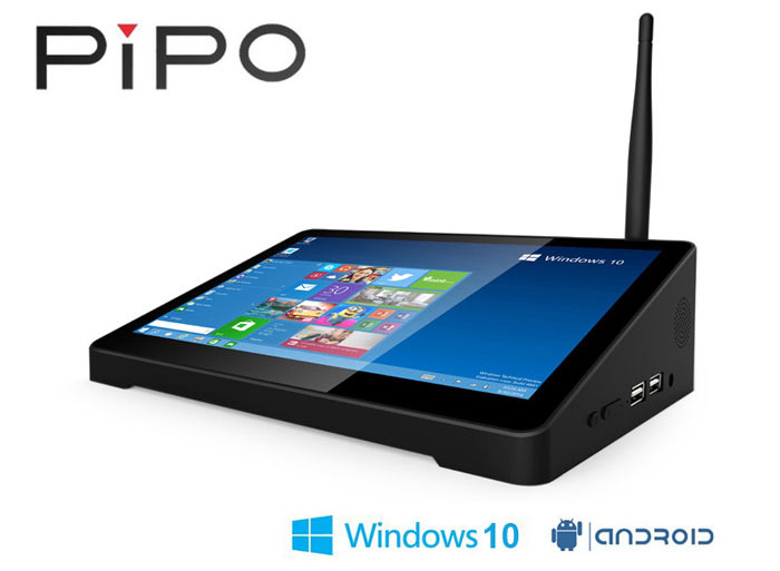 Pipo X9 offers Windows 10 and Android in an unusual form factor