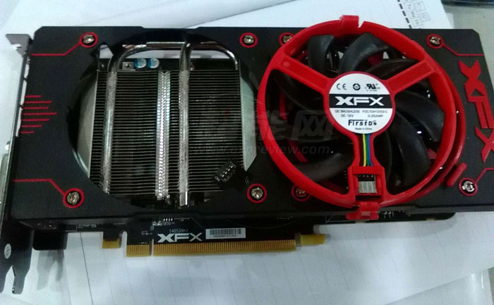 XFX Double Dissipation AMD Radeon R9 380X pictured