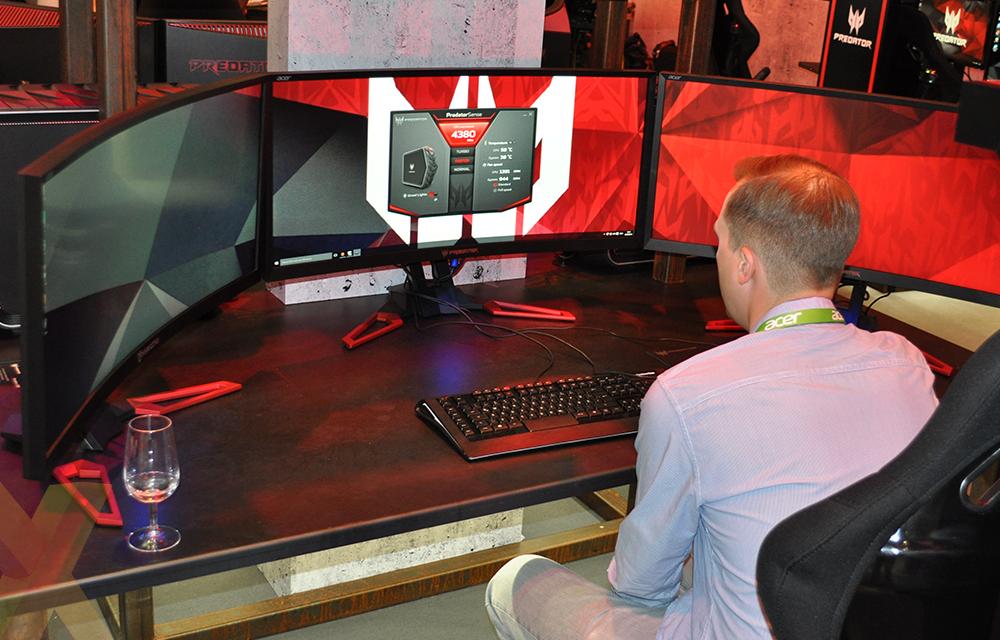 Acer's Predator Z35 G-Sync monitor has OC potential - Monitors