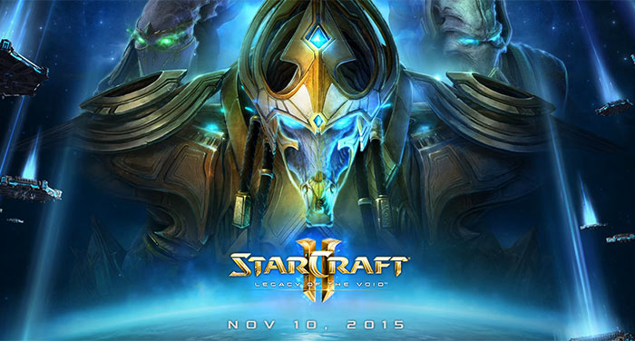 StarCraft 2: Legacy of the Void warps into stores on 10th