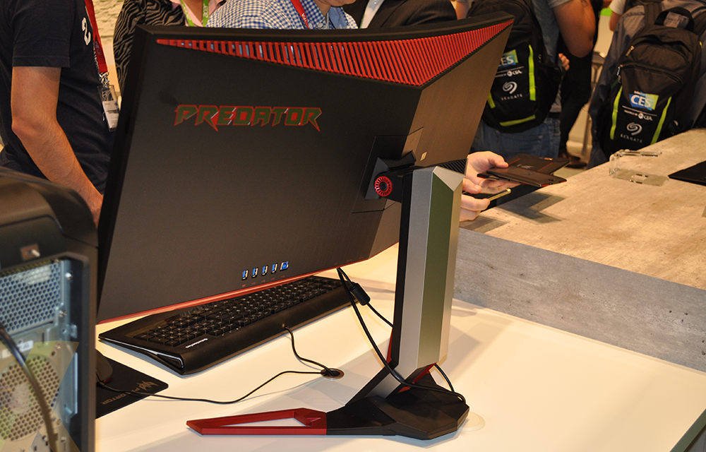 Acer's Predator Z35 G-Sync monitor has OC potential - Monitors